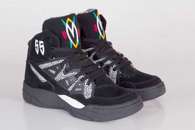 Adidas Mutombo Black White Bump 5
