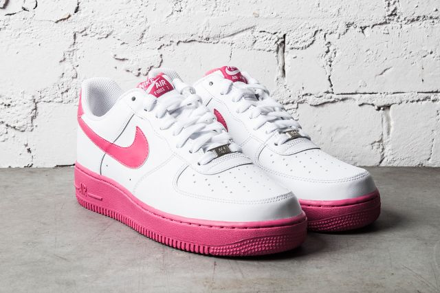 Nike Air Force 1 White Vivid Pink