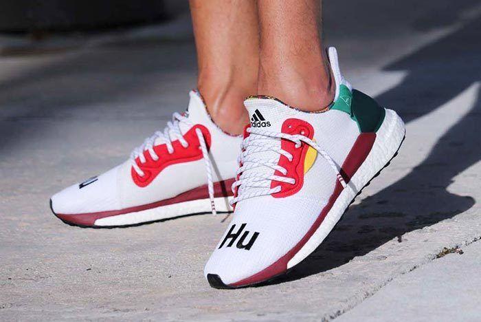 Pharrell Williams X Adidas Solar Hu Glide St White 6