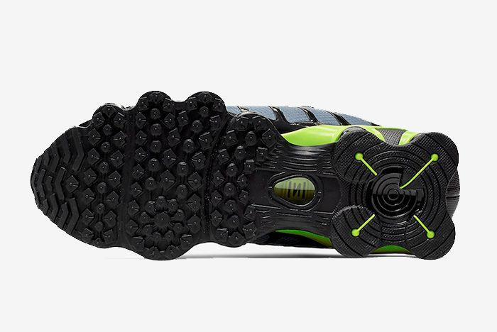 Nike Shox Tl Thunder Storm Volt Sole