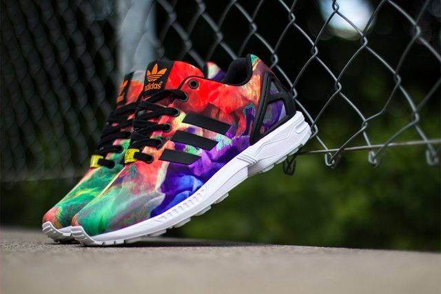 Adidas Zx Flux Water Colour 4