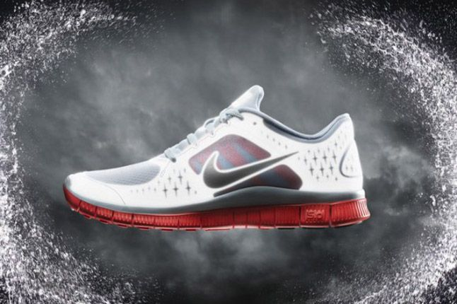 Nike Free Run Plus 3 Shield Grey Red Profile 2012 1