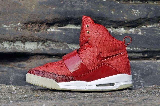 Jbf Customs Nike Air Yeezy 1 Red October 1