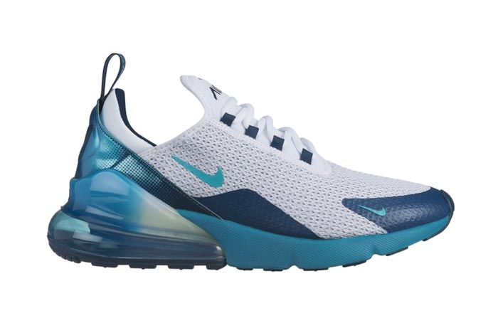 Nike Air Max 270 Spirit Teal Lateral