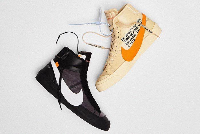 Virgil Abloh Off White Nike Blazer Spooky Pack The Ten