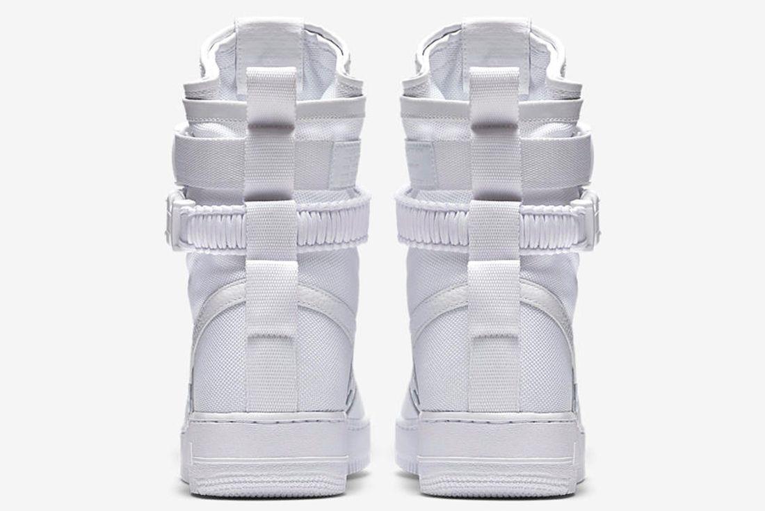 Nike Air Force 1 Sf White 6