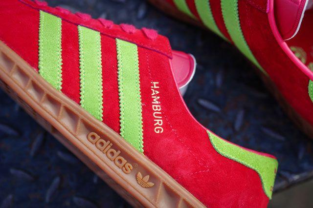 Adidas Hamburg 24 Closeup