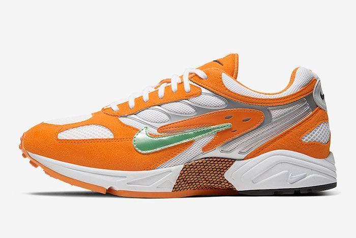 Nike Air Ghost Racer Orange Peel At5410 800 Lateral