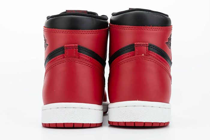 Air Jordan 1 85 Hi Varsity Red Heel