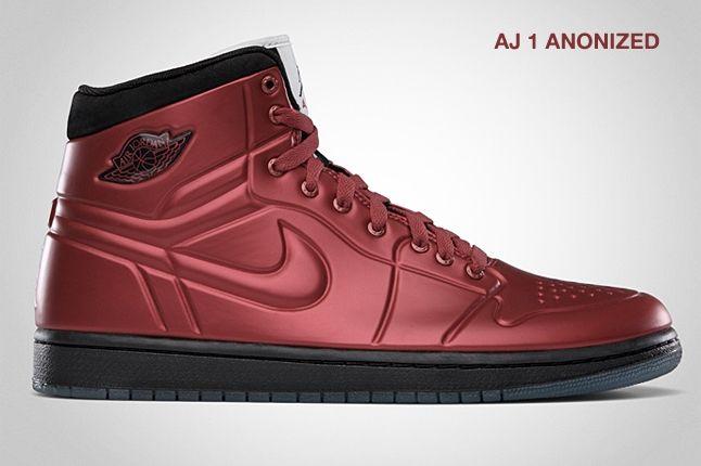 Jordan Aj 1 Anodized Varsity Red 1