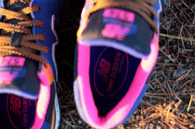 New Balance 574 90S Outdoor Pack Blue Orange Pink 2