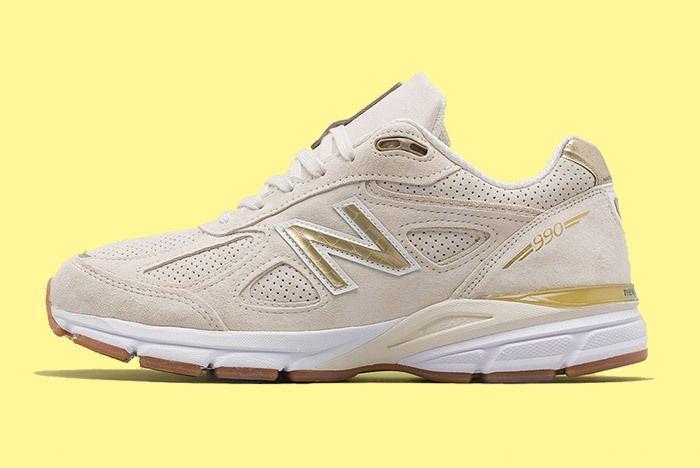 New Balance 990 V4 Off White 2