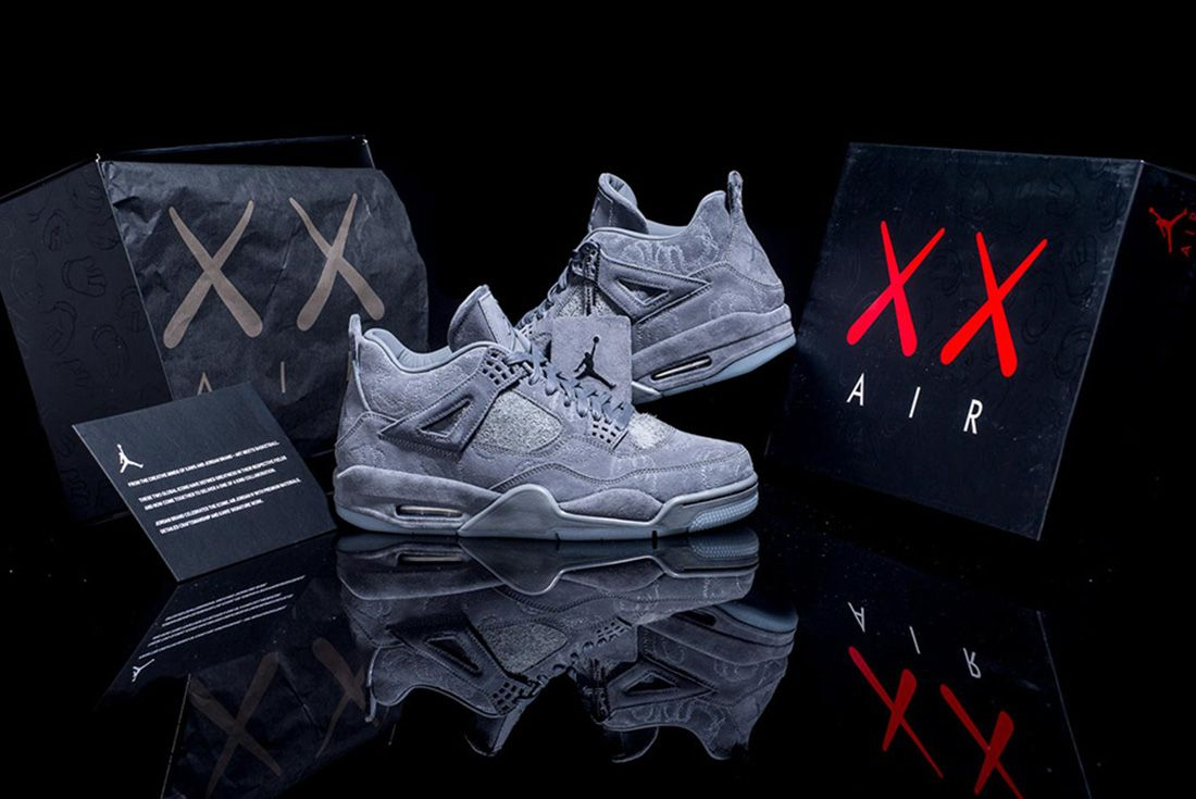 Kaws X Air Jordan 4 24