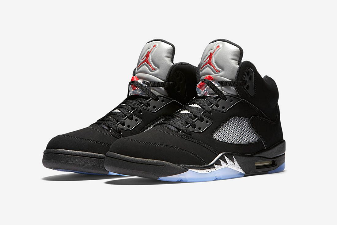 Air Jordan 5 Metallic Silver 2016 Retro 2