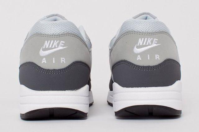 Nike Air Max 1 Essential Dark Grey White Silver Pure Platinum 1F