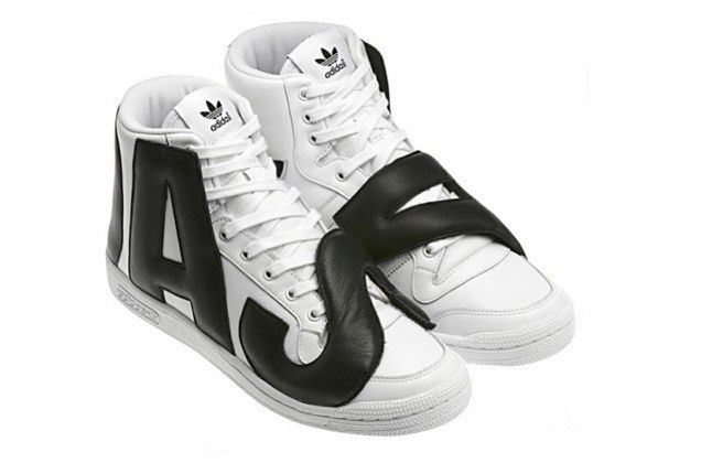 Adidas Originals By Jeremy Scott Js P Letters Leather Angle 1