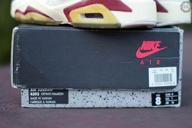 Og Air Jordan 6 Swapped Soles 7