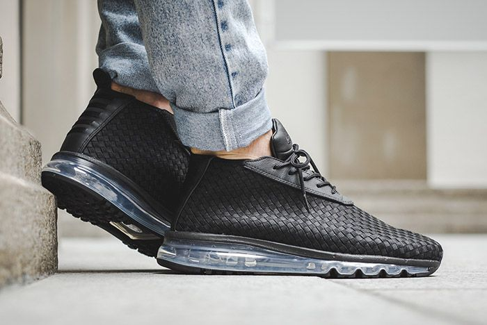 Nike Air Max Woven Boot Black 3