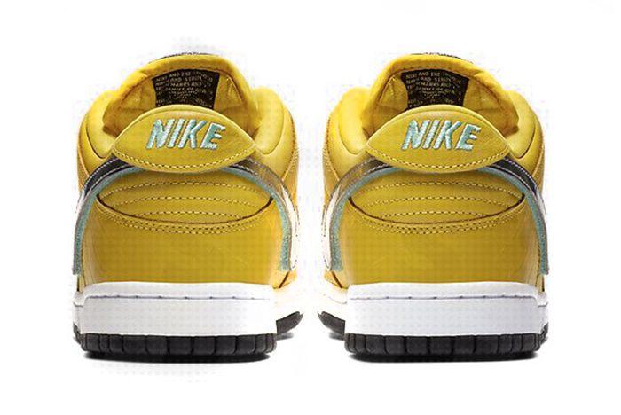 Diamond Supply Co Nike Sb Dunk Low Yellow 3