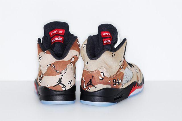 Supreme X Jordan 5 7