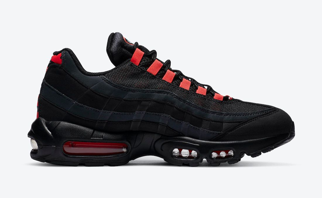 Nike Air Max 95 Laser Crimson Right