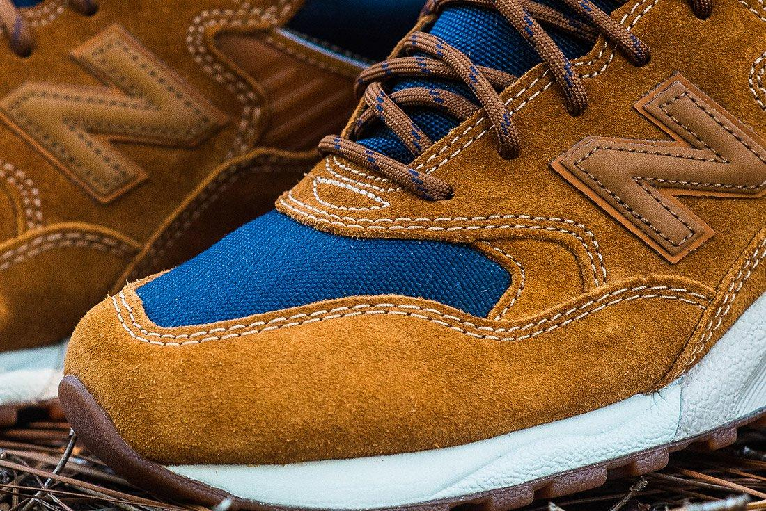 New Balance 580 Brown Leather 5