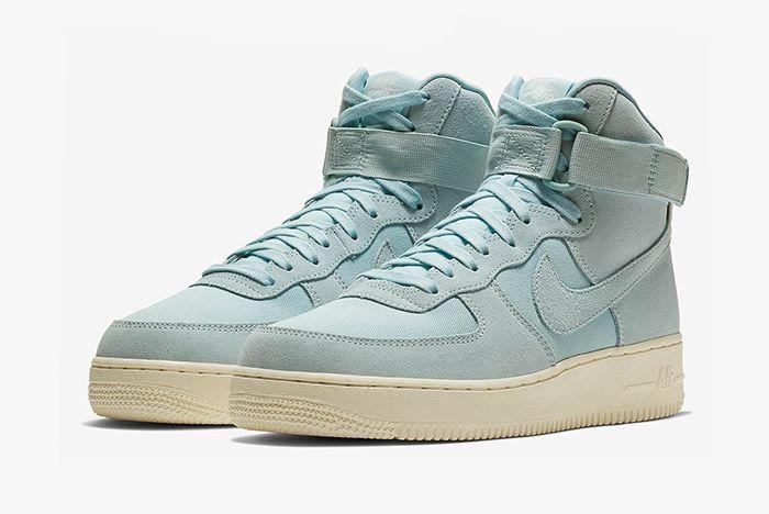 Nike Air Force 1 Hi Suede Pink Blue Yellow 7 Sneaker Freaker