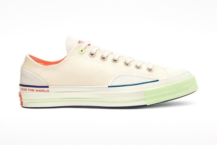 Pigalle Converse Chuck 70 Off White Release Date Lateral
