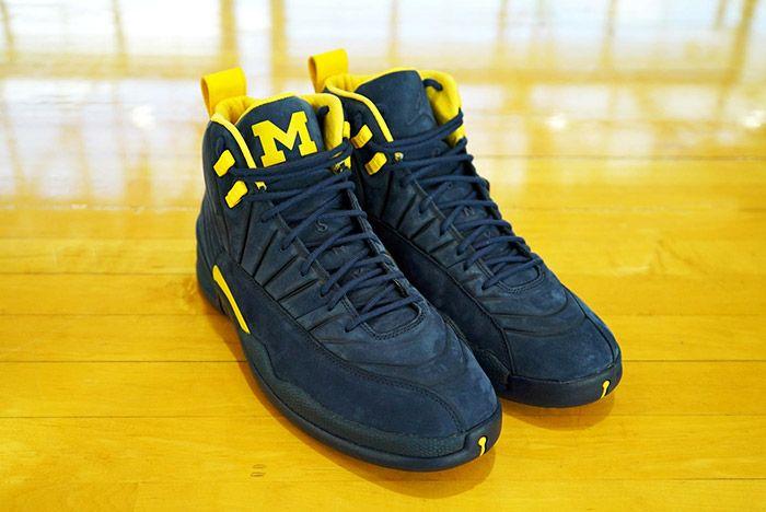 Psny X Michigan Jordan 12 Release 3 Sneaker Freaker