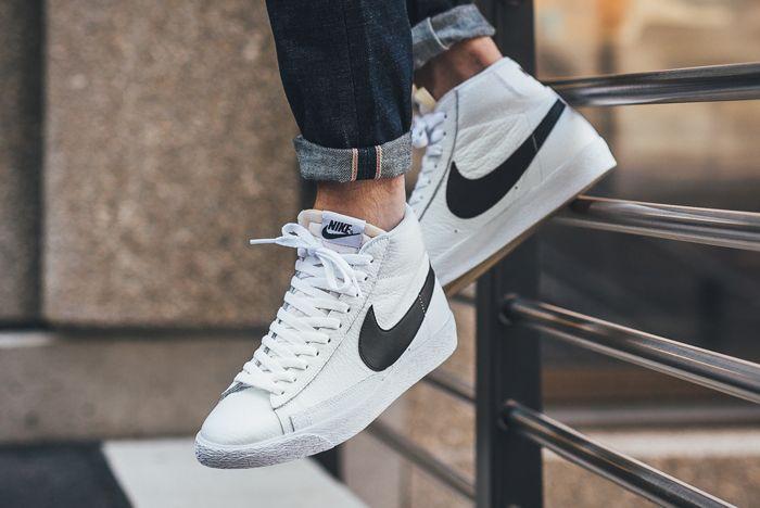 Nike Blazer Mid Retro Leather2