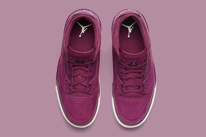 Wmns Air Jordan 3 Bordeaux 2