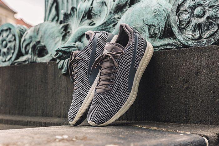 Puma Ignite Sock Knit Steel Grey 2