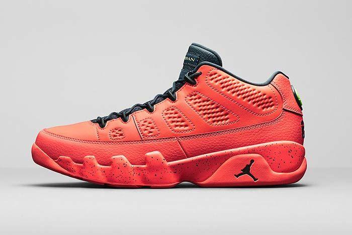Air Jordan 10 Retro Low Bright Mango Medial 3