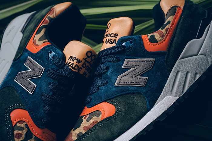 This New Balance 999 Is Ready for Hunting Season - Sneaker Freaker