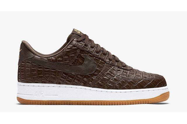 Nike Af1 Brown Croc Pack Ndc Bump 4