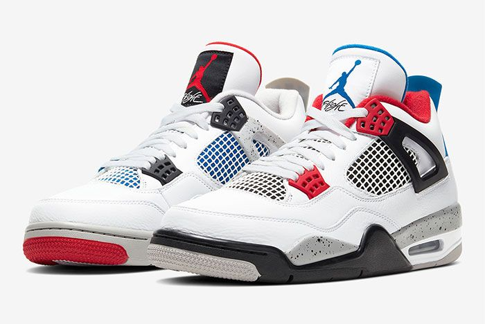 Air Jordan 4 What The Toe