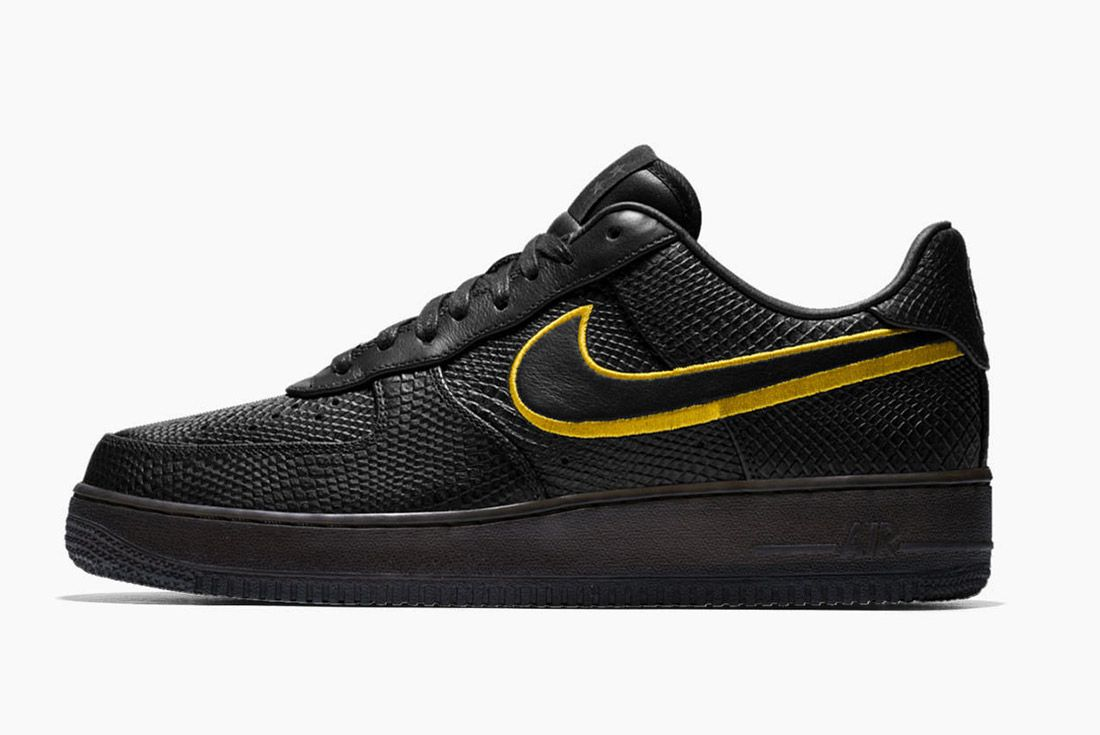 Nike Air Force 1 Kobe Black Mamba 4