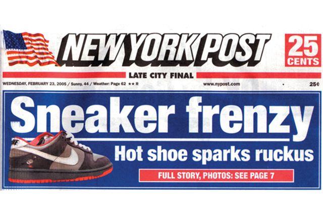 Sneaker Release Mayhem Pigeons