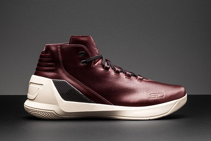 Under Armour Curry Lux Oxblood 9