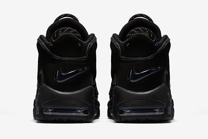 Nike Air More Uptempo Triple Black 5