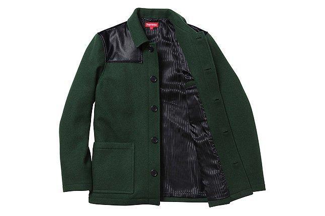 Donkey Jacket Green Open 1