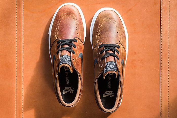 Nike Sb Stefan Janoski Ale Brown Leather 1