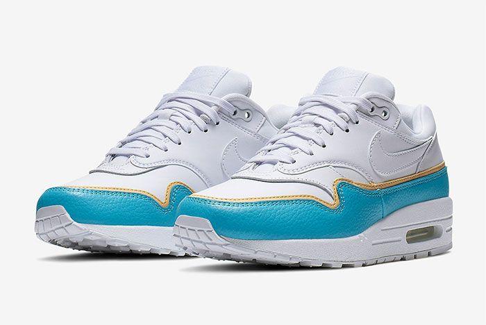 Nike Air Max 1 Layer Blue Quarter