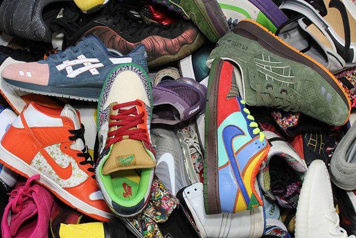 Sneaker Sam Sneaker Pile