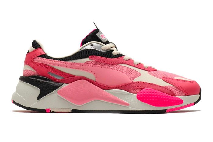 Puma Rs X3 Puzzle Char Rose Right