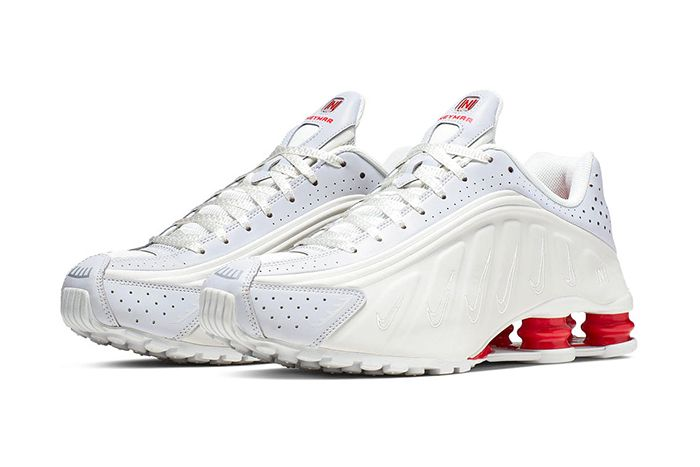Neymar Nike Shox R4 Collaboration Official White Release Date Pair