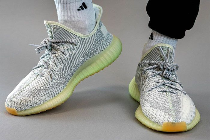 Adidas Yeezy 350 V2 Yeshaya On Foot Toe