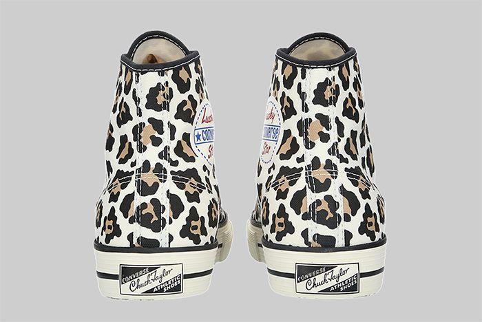 Converse Lucky Star High Leopard Heel