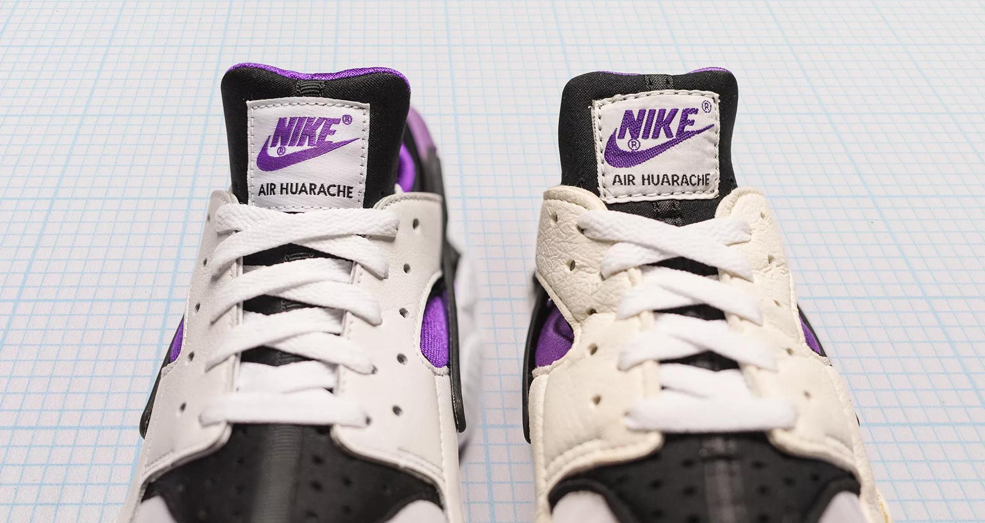 Nike Air Huarache Purple Punch 2018 1991