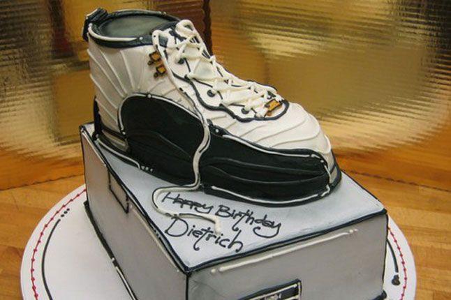 Sneaker Freaker Sneaker Cakes Air Jordan 12 1